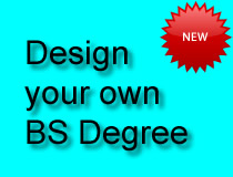 Design your own BS Degree